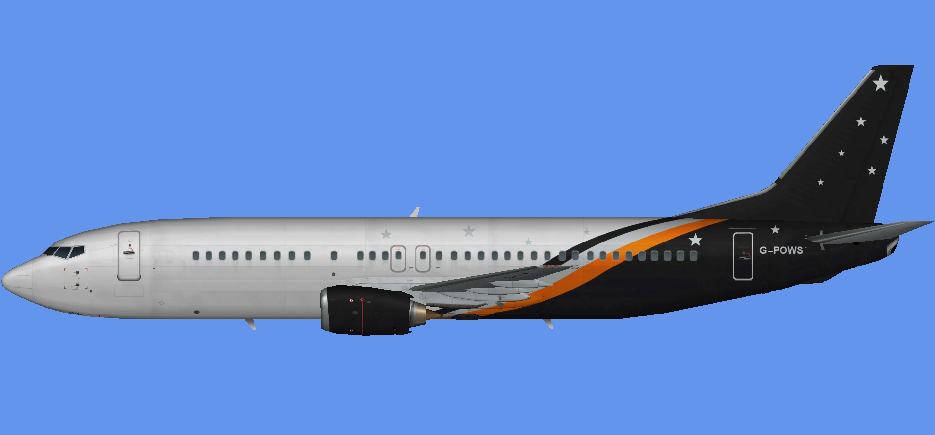 Titan Airways Boeing 737-400