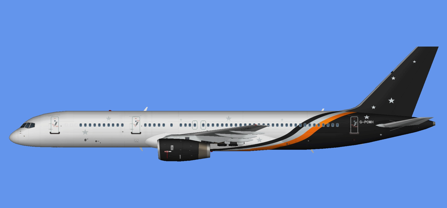 Titan Airways Boeing 757