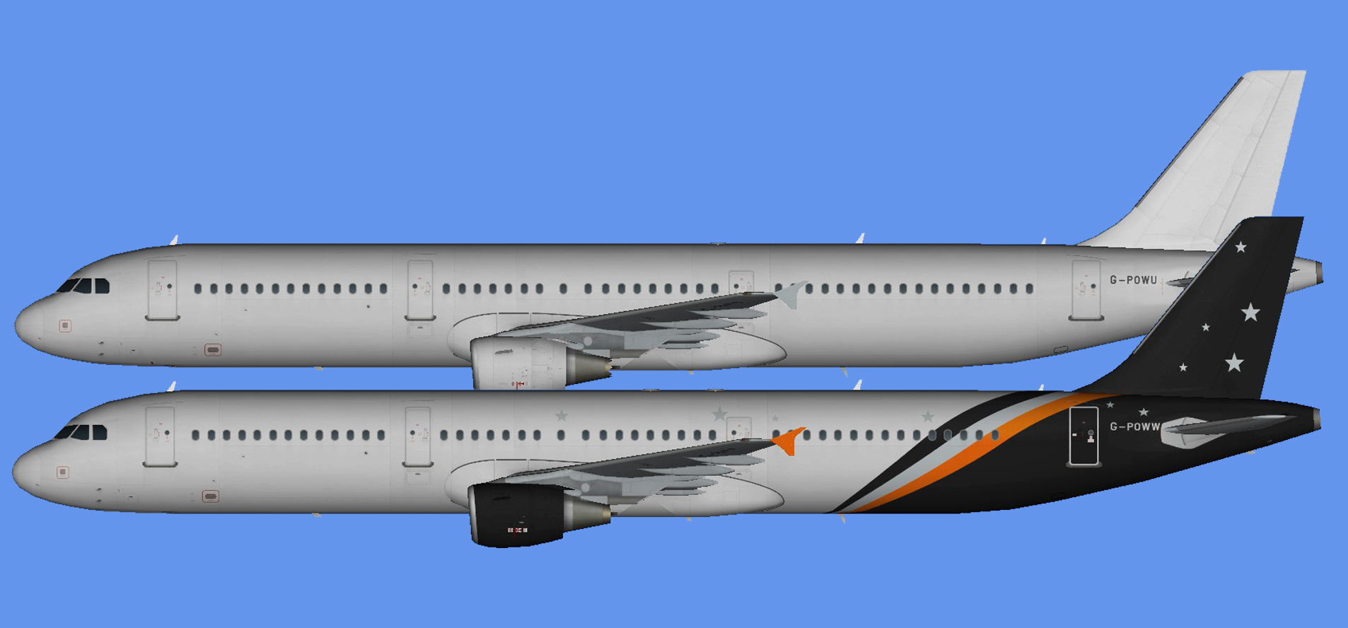 Titan Airways Airbus A321