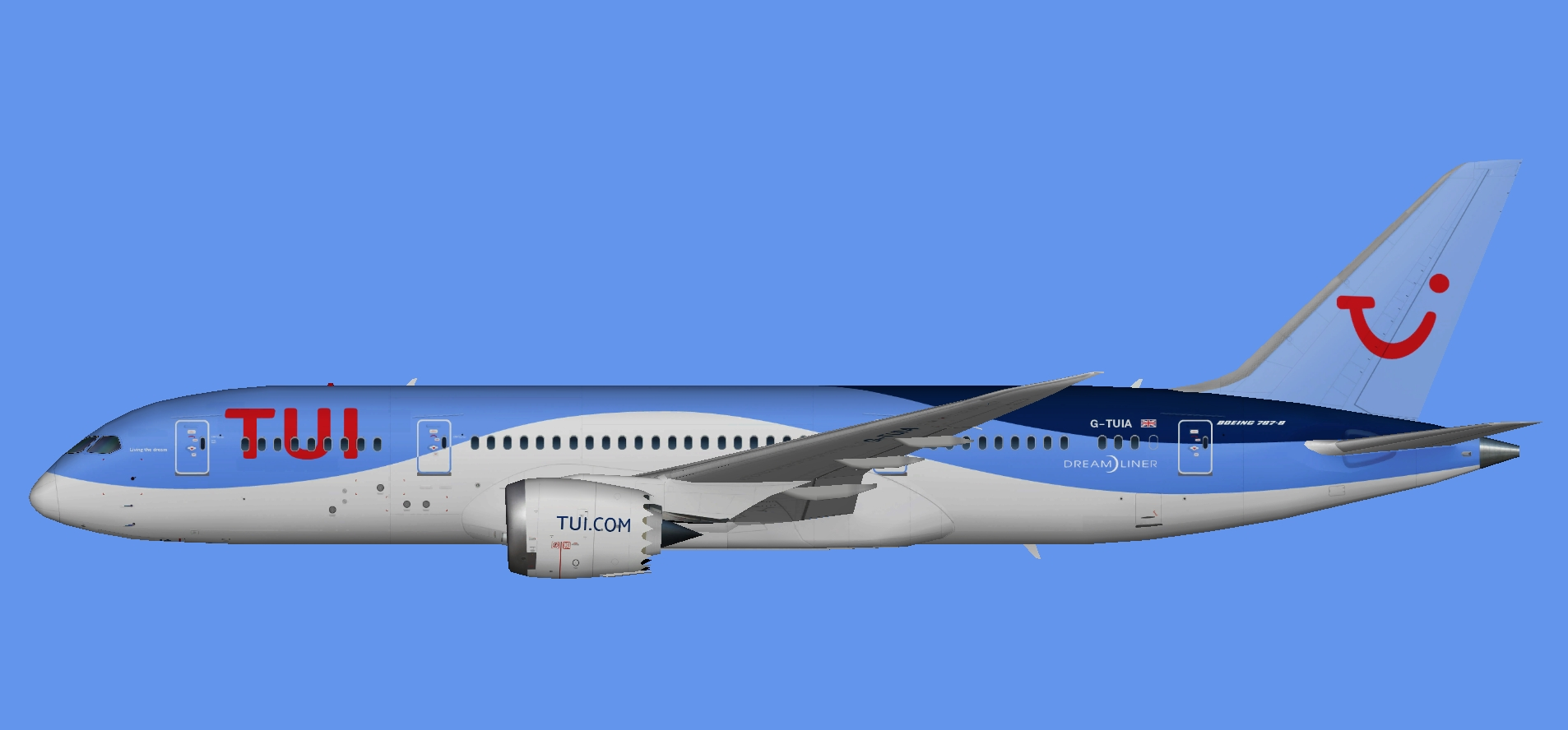 TUI Airways 787-8 (UTT)