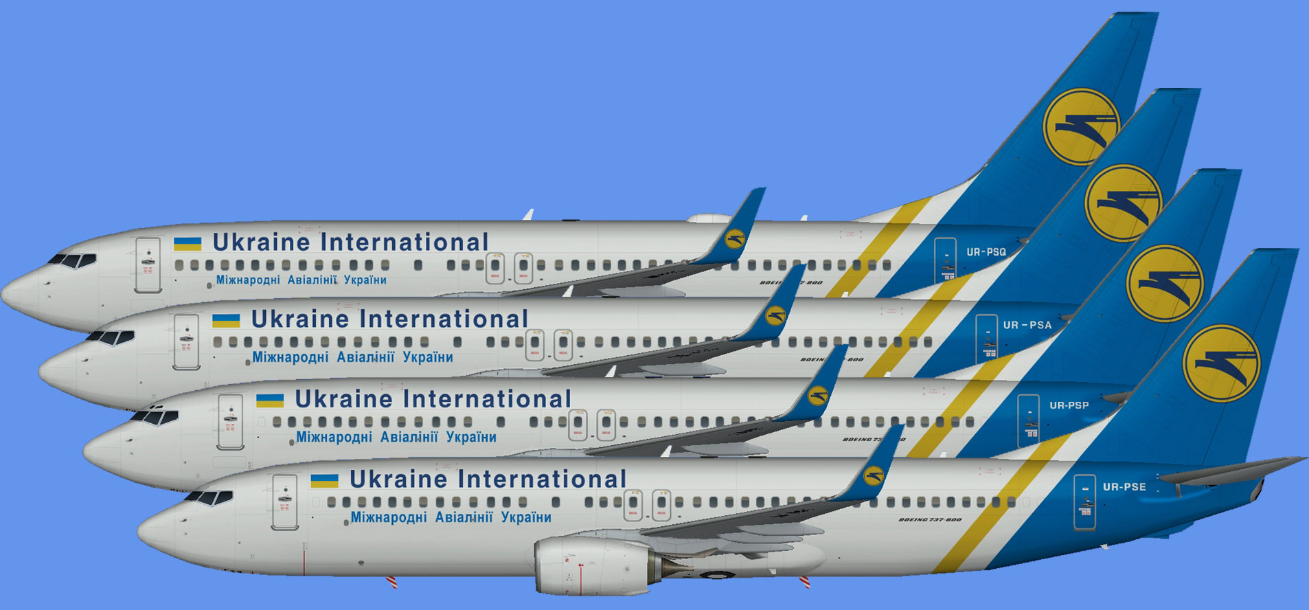 Ukraine International 737-800