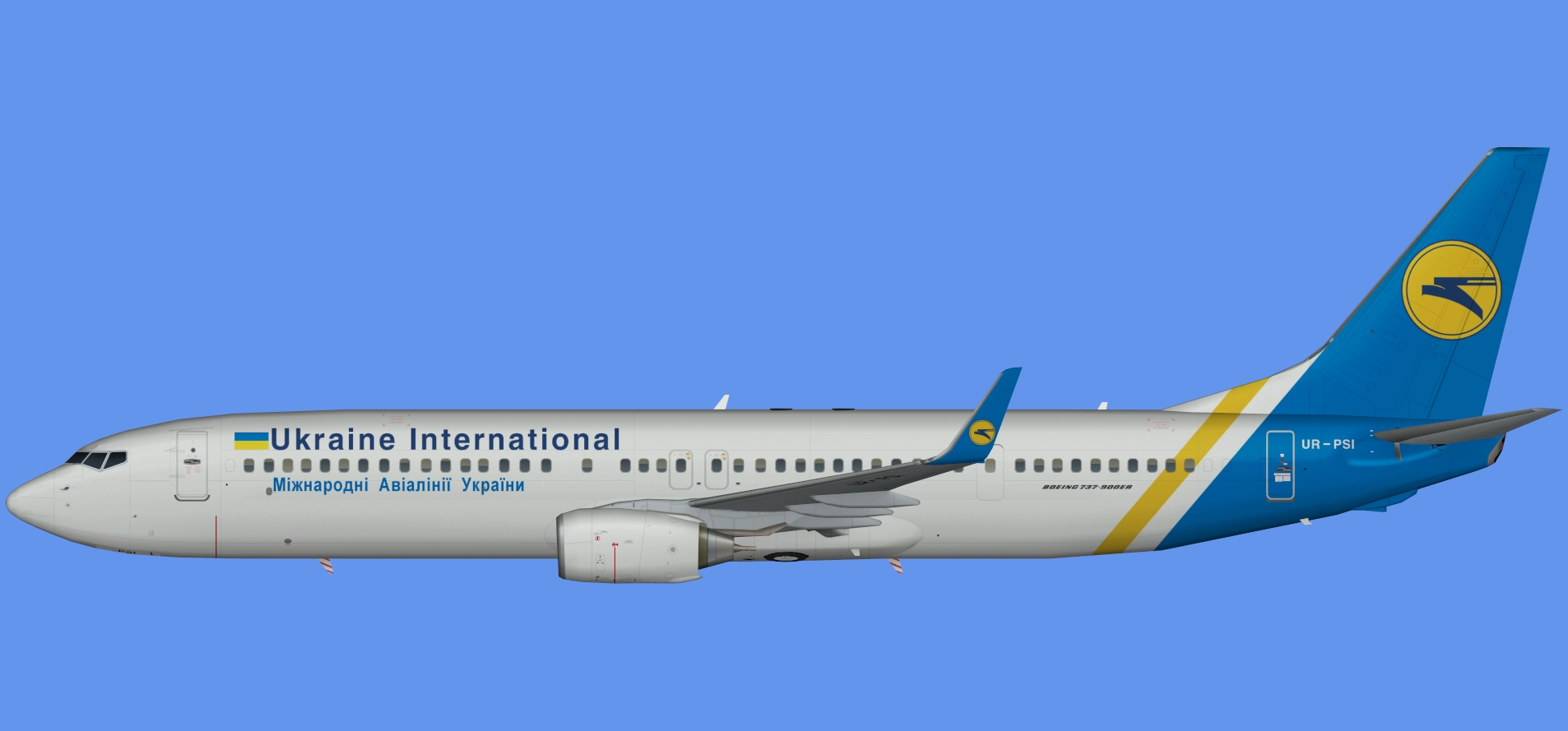 Ukraine International 737-900ER