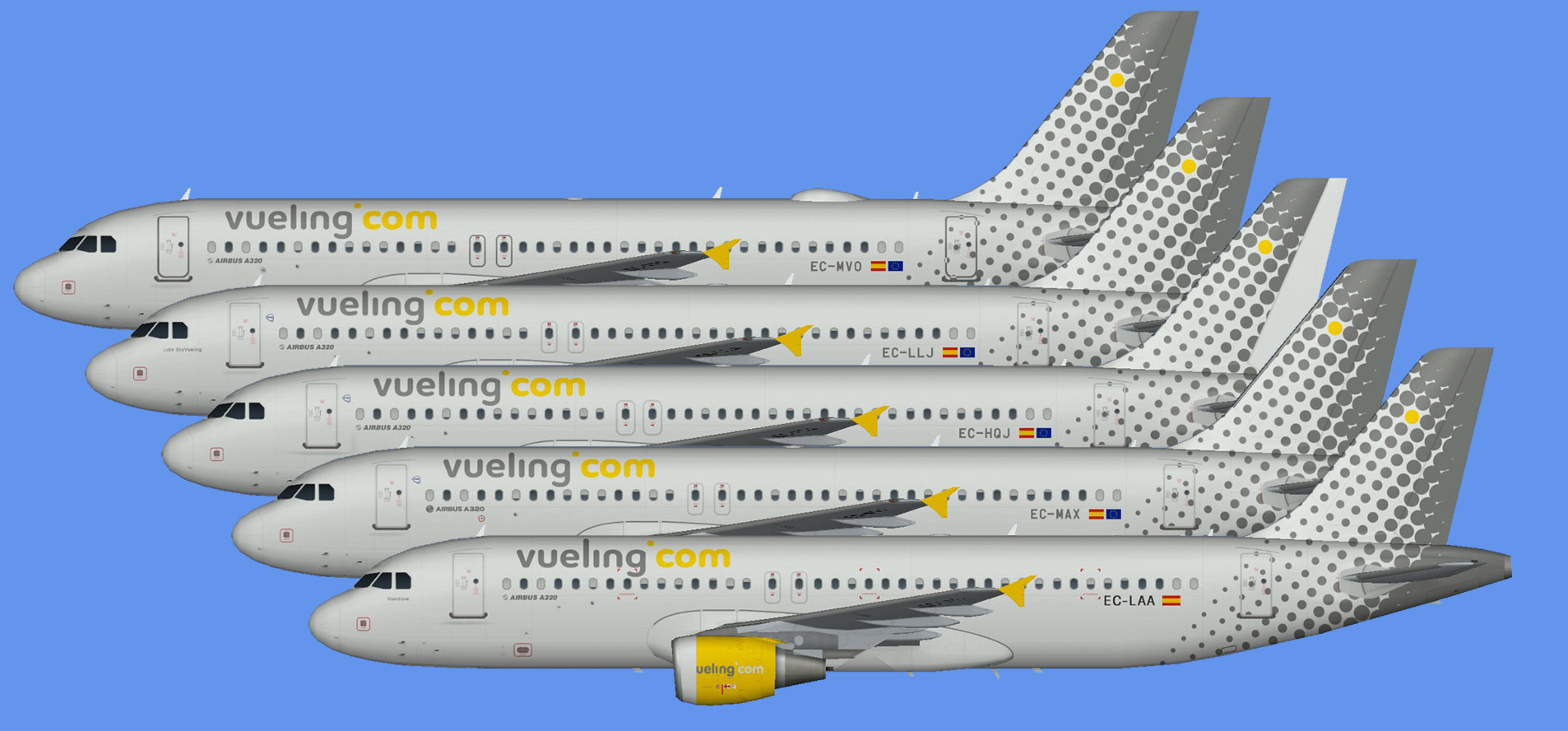 Vueling Airbus A320 CFM