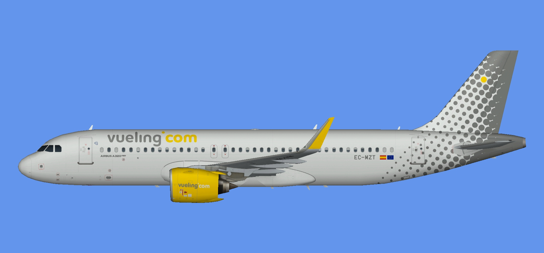 Vueling Airbus A320 NEO