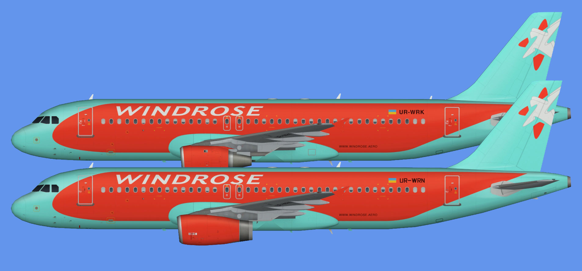 Wind Rose Airbus A320