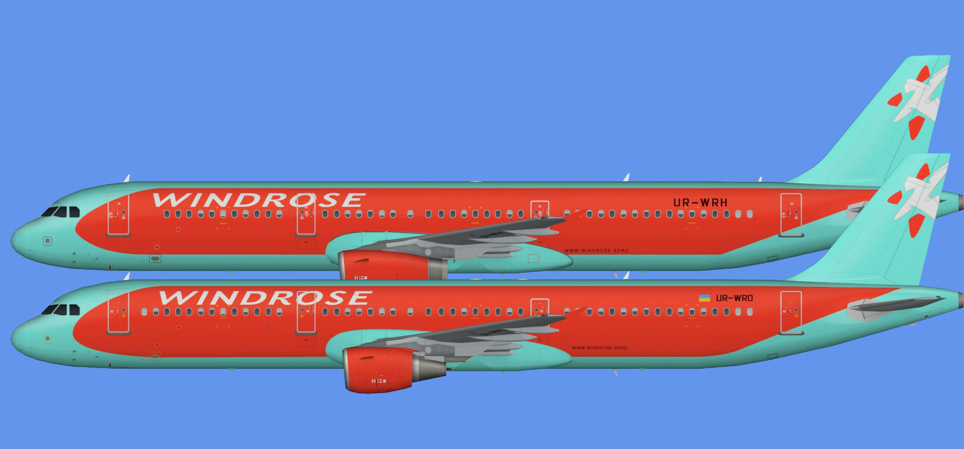 Wind Rose Airbus A321