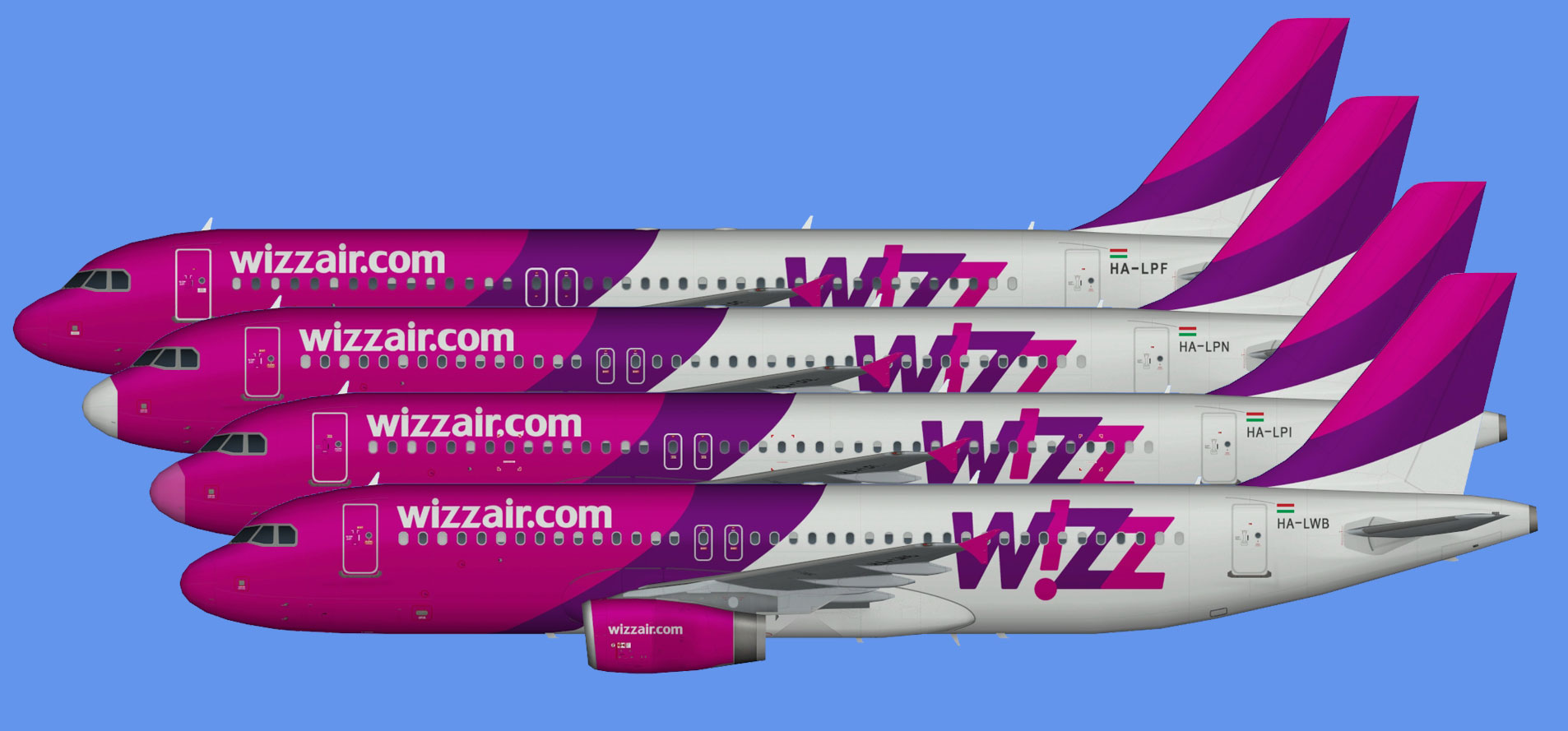 Wizz Air A320 OC