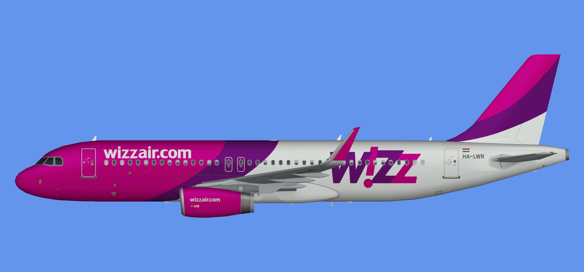 Wizz Air A320 OC (sharklets)