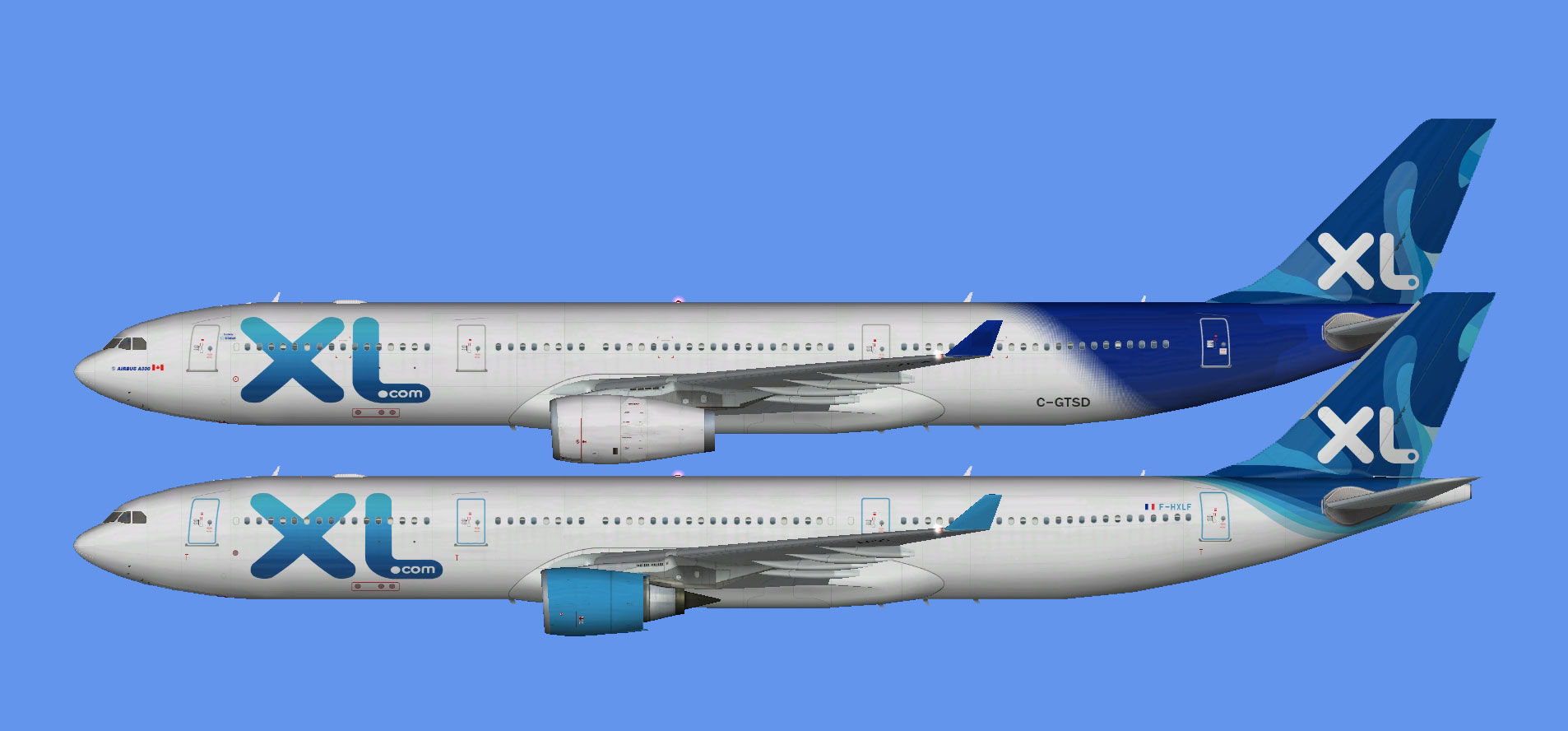 XL Airways France A330-300 (FSP)