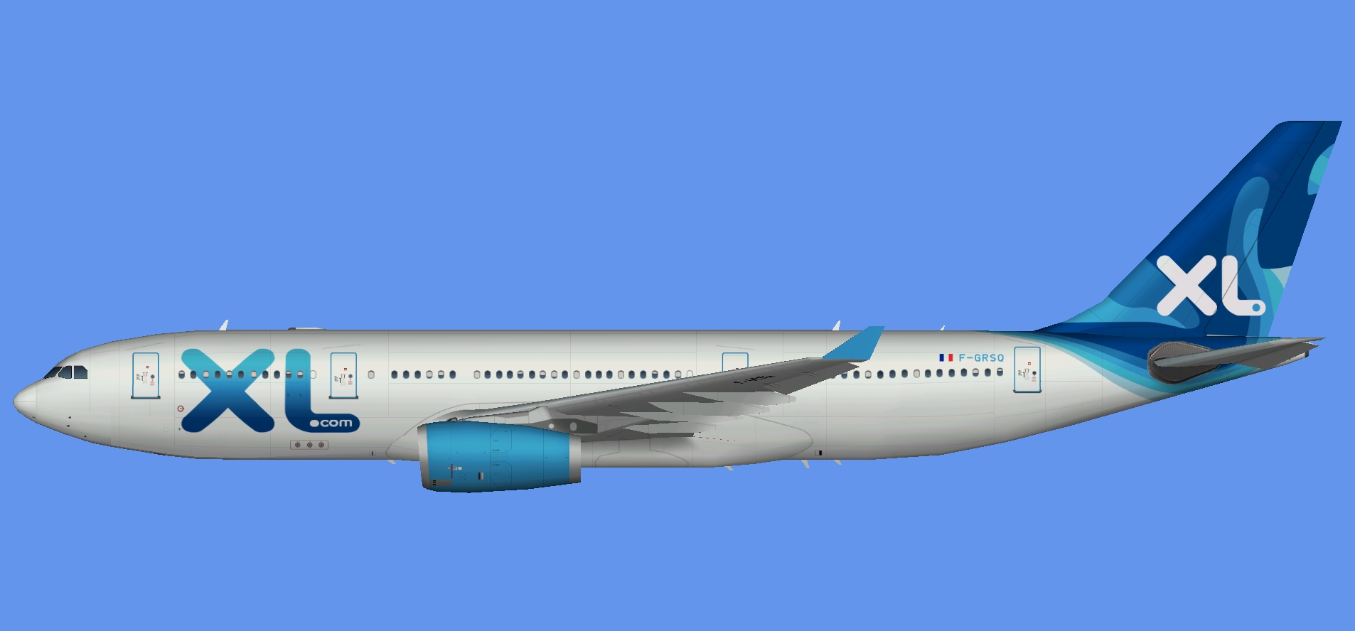 XL Airways France A330-200 (TFS)