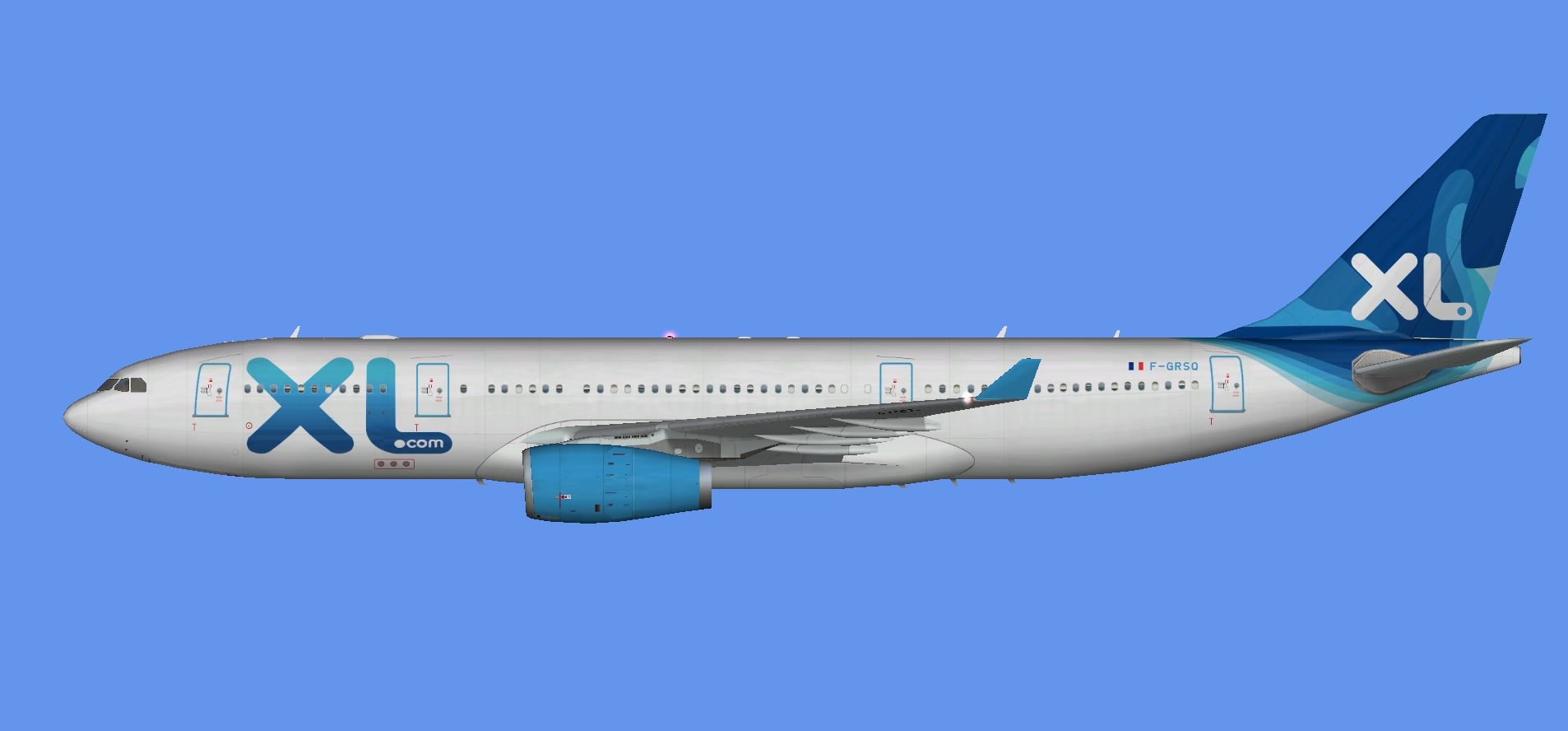 XL Airways France A330-200 (FSP)